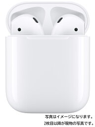 【Apple】アップル『AirPods with Charging Case』MV7N2J/A 第2世代 ワイヤレスイヤホン 1週間保証【中古】