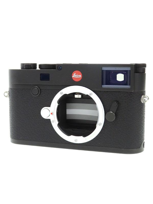 【Leica】【Wi-Fi】ライカ『LEICA M10 ボディ ブラック TyP 3656』2017年 2400万画素 フルサイズCMOSセンサー デジタルカメラ 1週間保証【中古】