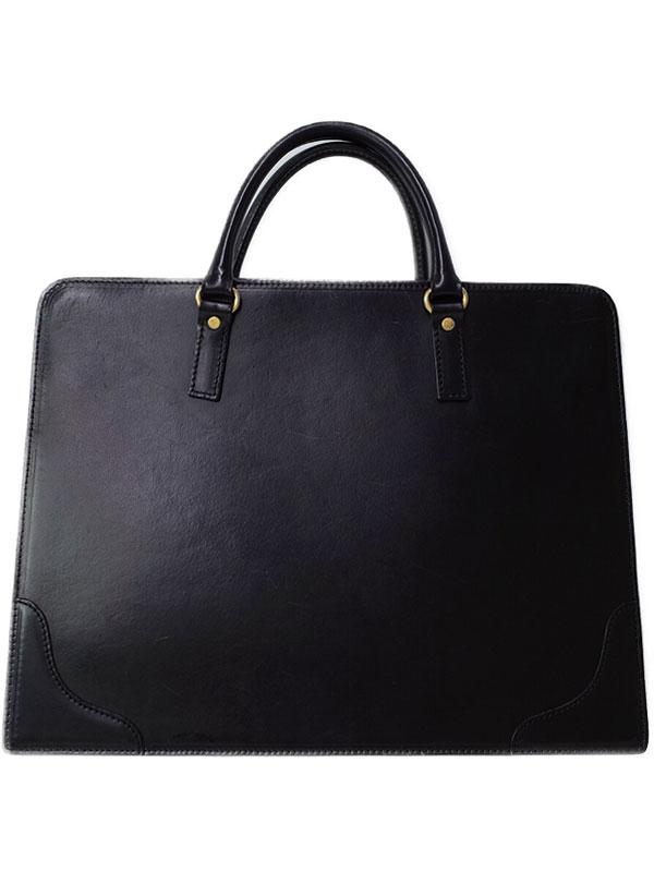 【大峡製鞄】オオバセイホウ『オールレザー ブリーフケース』メンズ ビジネスバッグ 1週間保証【中古】