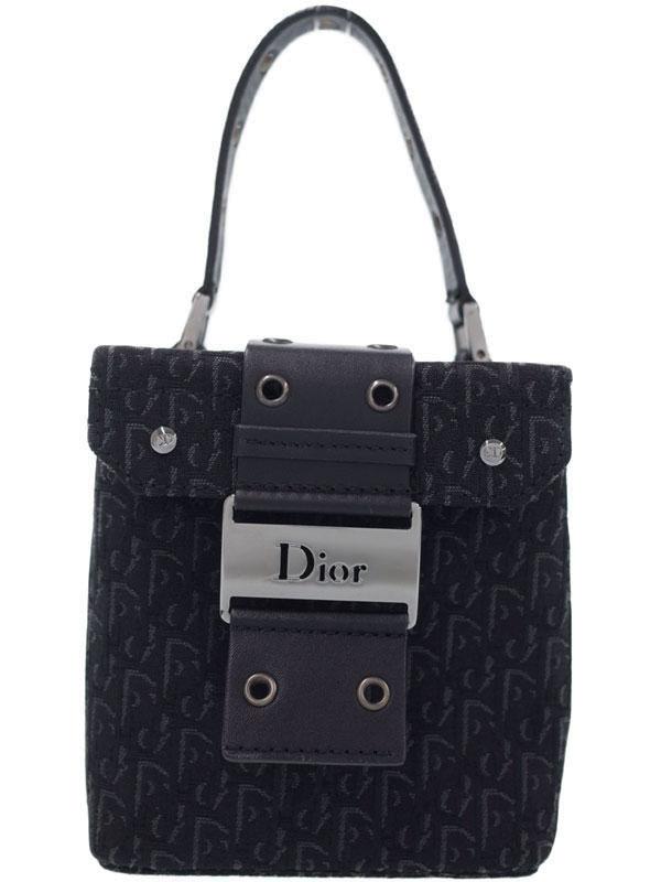 【Christian Dior】クリスチャンディオール『トロッター柄 バニティバッグ』レディース 化粧ポーチ 1週間保証【中古】