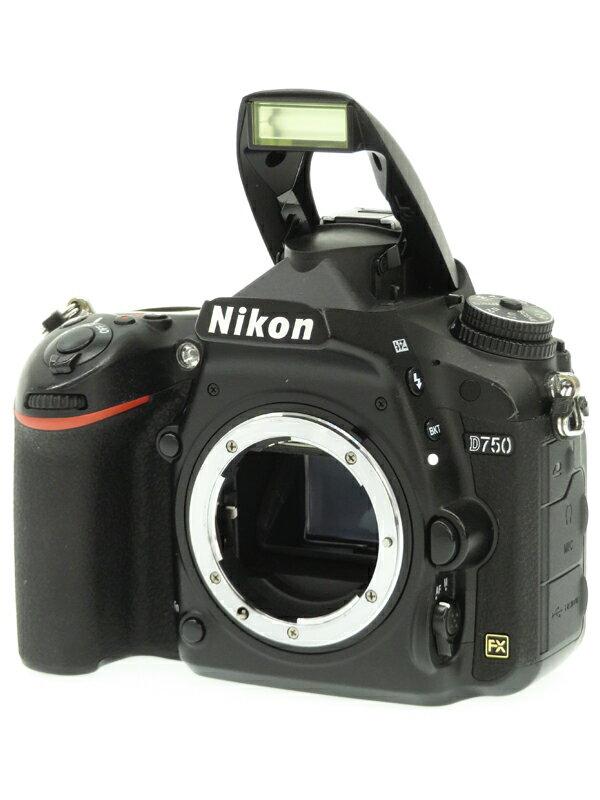 【Nikon】ニコン『D750ボディ』2432万画素 FXフォーマット ISO12800 SDXC フルHD動画 デジタル一眼レフカメラ 1週間保証【中古】