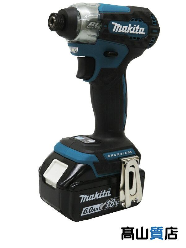 【makita】マキタ『充電式インパクトドライバー』TD157DRGX 18V 6.0Ah×2 充電器 ケース付 1週間保証【新品】