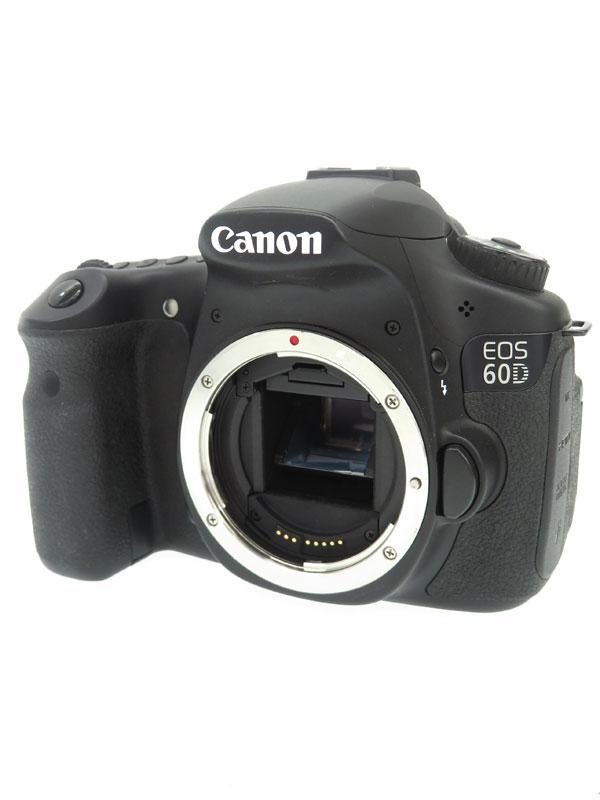【Canon】キヤノン『EOS 60D ボディー』2010年 1800万画素 EF-S SDXC フルHD動画 デジタル一眼レフカメラ 1週間保証【中古】