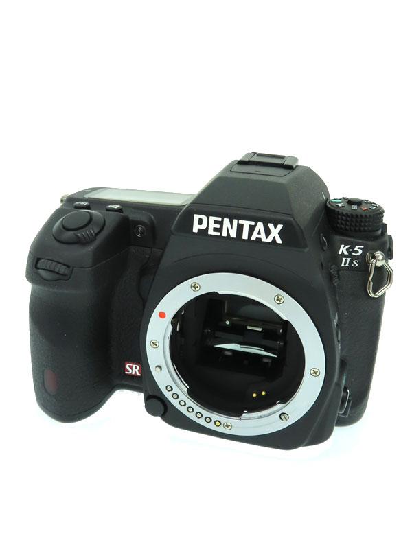 【PENTAX】ペンタックス『K-5 II s ボディ ブラック』2012年 1628万画素 3インチ SDXC ローパスフィルターレスモデル デジタル一眼レフカメラ 1週間保証【中古】