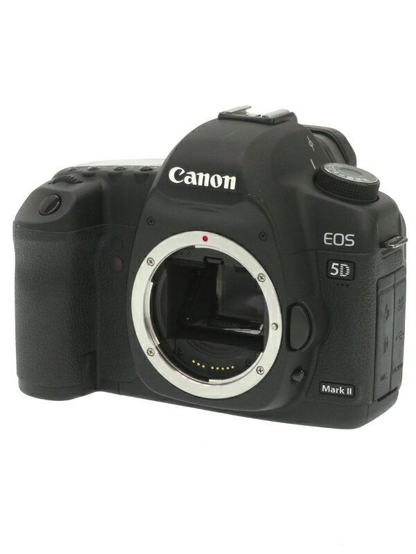 【Canon】キヤノン『EOS 5D Mark II ボディ』EOS5DMK2 2110万画素 フルサイズ CFカード フルHD動画 デジタル一眼レフカメラ 1週間保証【中古】