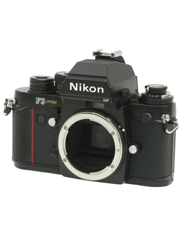 【Nikon】ニコン『F3 Limited』マニュアルフォーカス フィルム一眼レフカメラ 1週間保証【中古】