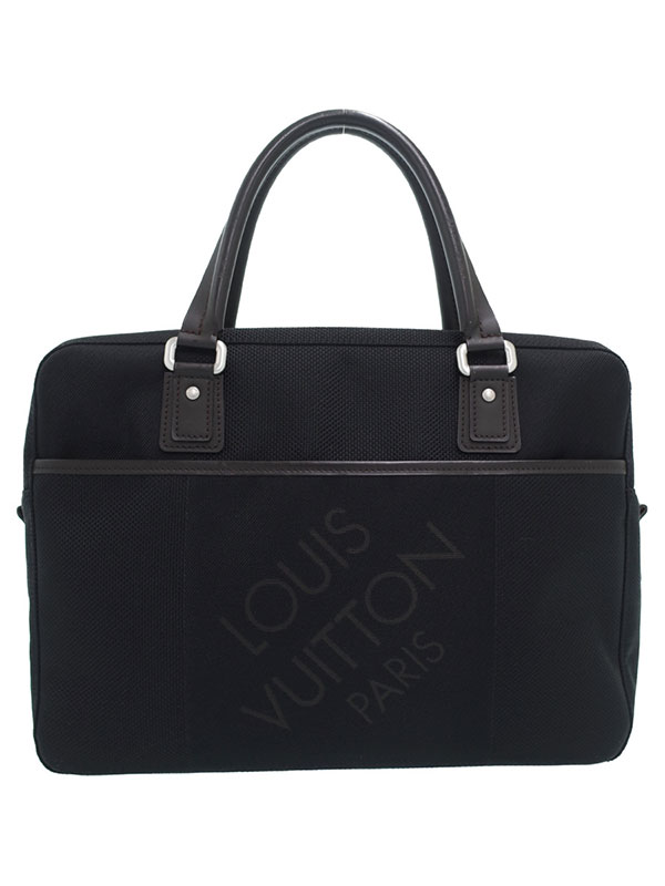 【LOUIS VUITTON】ルイヴィトン『ダミエ ジェアン ヤック』M93082 メンズ ビジネスバッグ 1週間保証【中古】