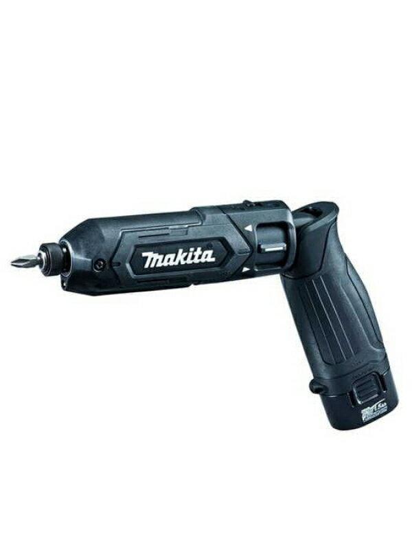 【makita】マキタ『充電式ペンインパクトドライバ』TD022DSHXB 黒 7.2V リチウムイオン1.5Ah 充電器 アルミケース 1週間保証【中古】