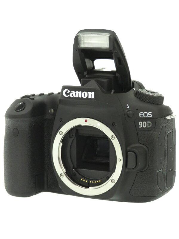 【Canon】キヤノン『EOS 90D ボディー』3250万画素 EF-S 4K動画 SDXC デジタル一眼レフカメラ 1週間保証【中古】