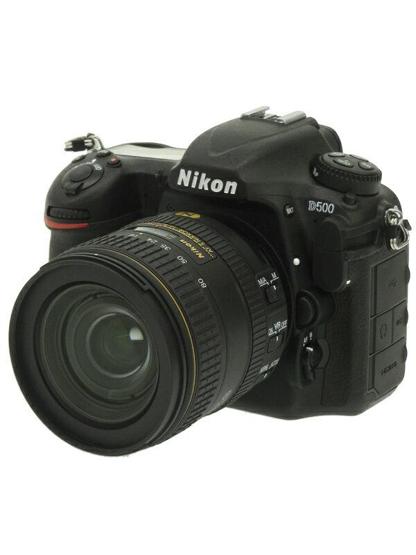 【Nikon】ニコン『D500 16-80 VR レンズキット』2088万画素 DXフォーマット 4K動画 XQD/SDXC Wi-Fi デジタル一眼レフカメラ 1週間保証【中古】