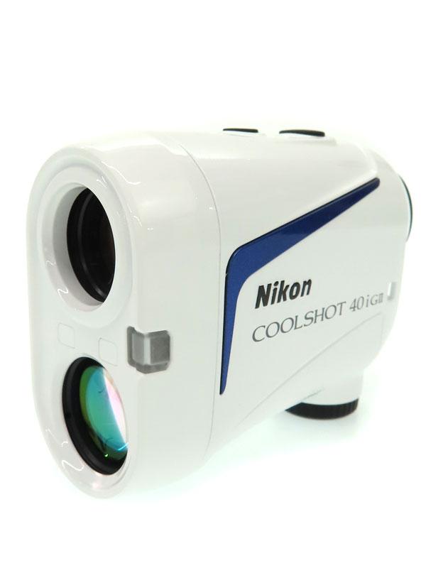 【Nikon】ニコン『COOLSHOT 40i GII』2020年 LOCKED ON機能 ゴルフ用レーザー距離計 1週間保証【中古】