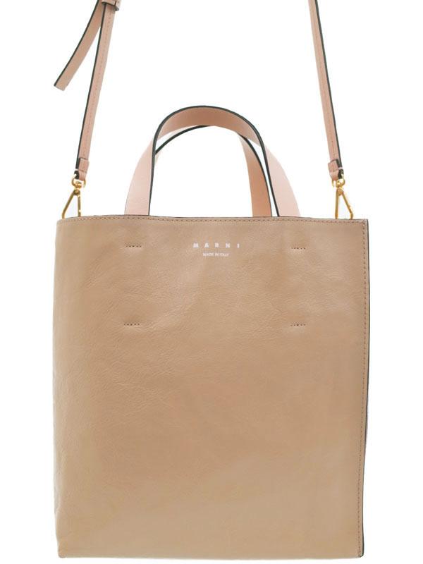 【MARNI】マルニ『MUSEO SOFT バッグ』SHMP0018U1P2644 レディース 2WAYバッグ 1週間保証【中古】