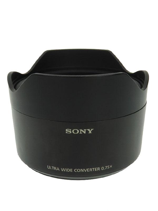 【SONY】【SEL28F20専用】ソニー『ウルトラワイドコンバーター』SEL075UWC レンズアクセサリー 1週間保証【中古】
