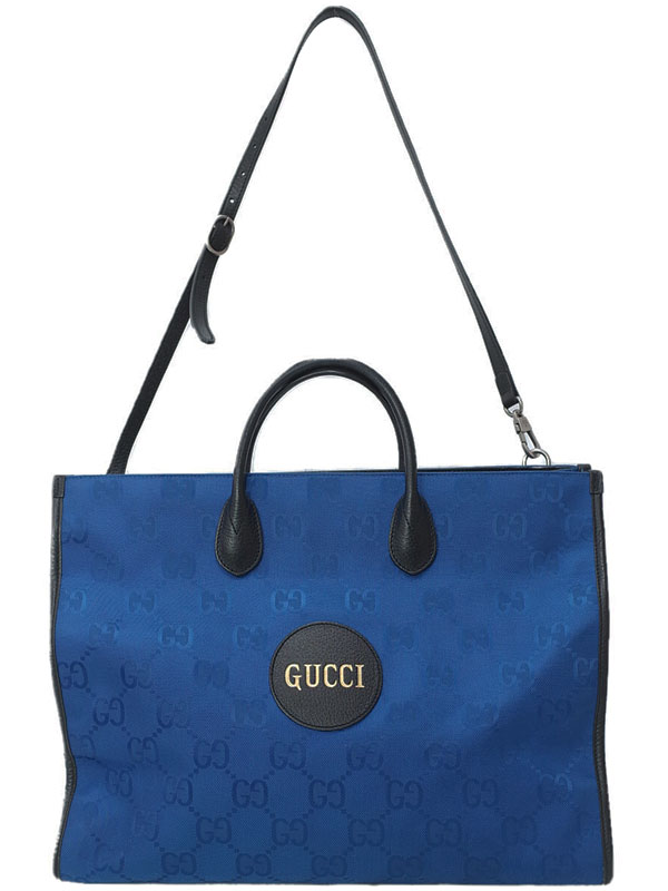 【GUCCI】【Gucci Off the Grid】グッチ『グッチ オフ ザ グリッド トートバッグ』630353 メンズ 2WAYバッグ 1週間保証【中古】
