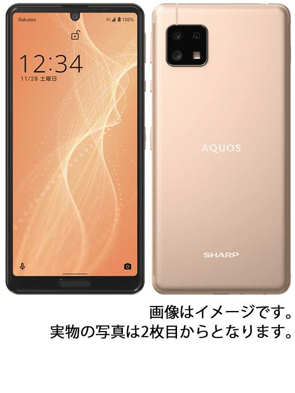 【SHARP】シャープ『AQUOS sense4 lite 64GB SIMフリー ライトカッパー』SH-RM15 スマートフォン 1週間保証【中古】