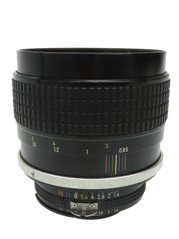 【Nikon】ニコン『AI Nikkor 85mm F1.4S』一眼レフカメラ用レンズ 1週間保証【中古】