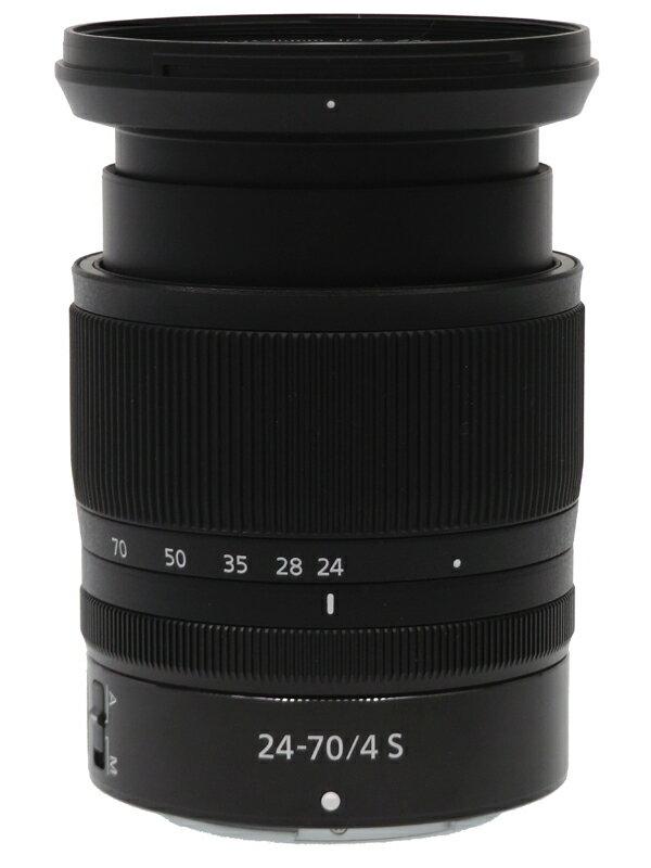 【Nikon】ニコン『NIKKOR Z 24-70mm f/4 S』標準ズーム FXフォーマット Zマウント ミラーレス一眼カメラ用レンズ 1週間保証【中古】