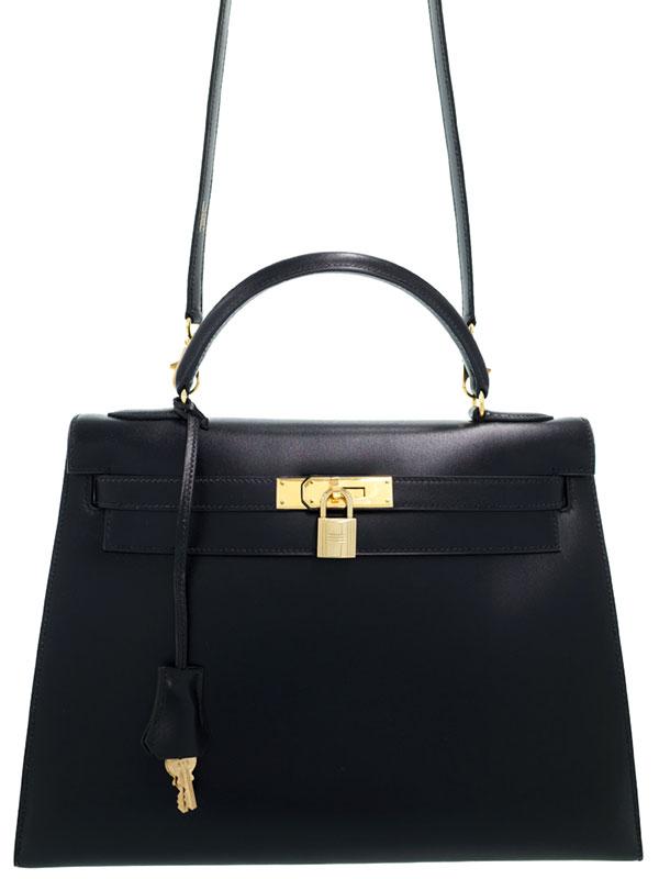 【HERMES】【ゴールド金具】エルメス『ケリー32 外縫い』〇Z刻印 1996年製 レディース 2WAYバッグ 1週間保証【中古】