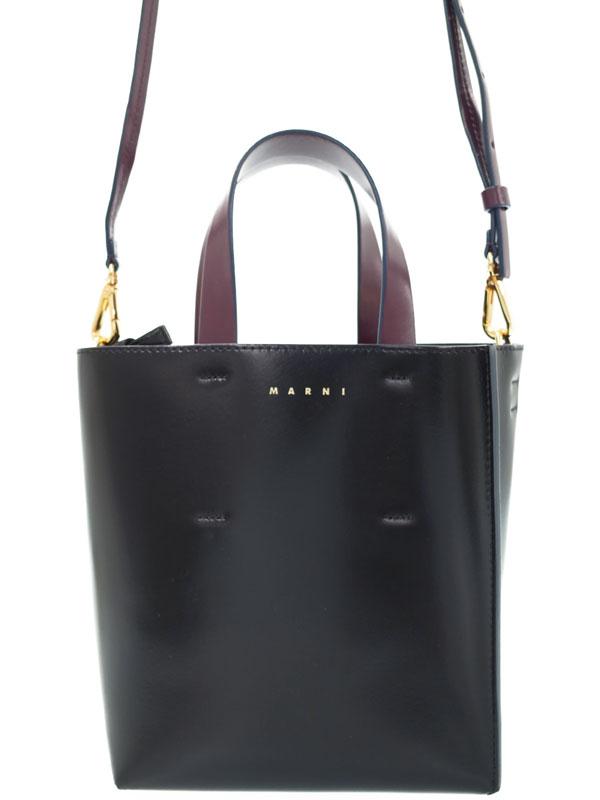 【MARNI】マルニ『MUSEO SOFT バッグ』SHMP0039Y0 レディース 2WAYバッグ 1週間保証【中古】