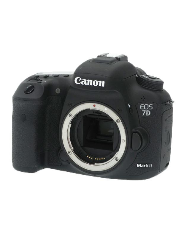 【Canon】キヤノン『EOS 7D Mark II ボディ』9128B001 デジタル一眼レフカメラ 1週間保証【中古】
