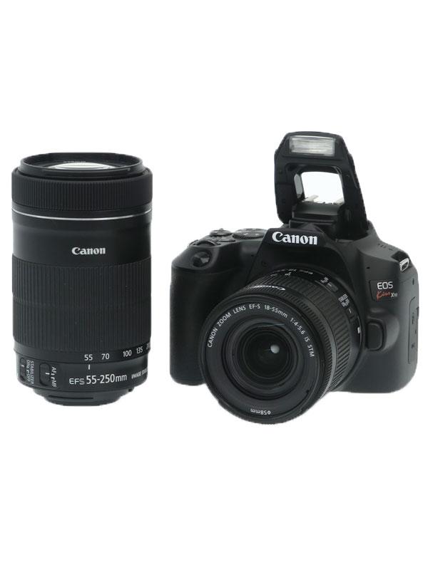 【Canon】キヤノン『EOS Kiss X10 ダブルズームキット』3452C003 デジタル一眼レフカメラ 1週間保証【中古】