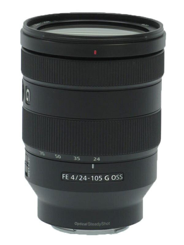 【SONY】ソニー『FE 24-105mm F4 G OSS』SEL24105G デジタル一眼カメラ用レンズ 1週間保証【中古】