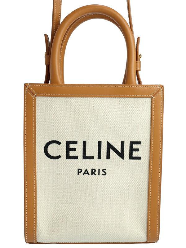 【CELINE】【新ロゴ】セリーヌ『ミニ バーティカル カバ』193302BNZ レディース 2WAYバッグ 1週間保証【中古】