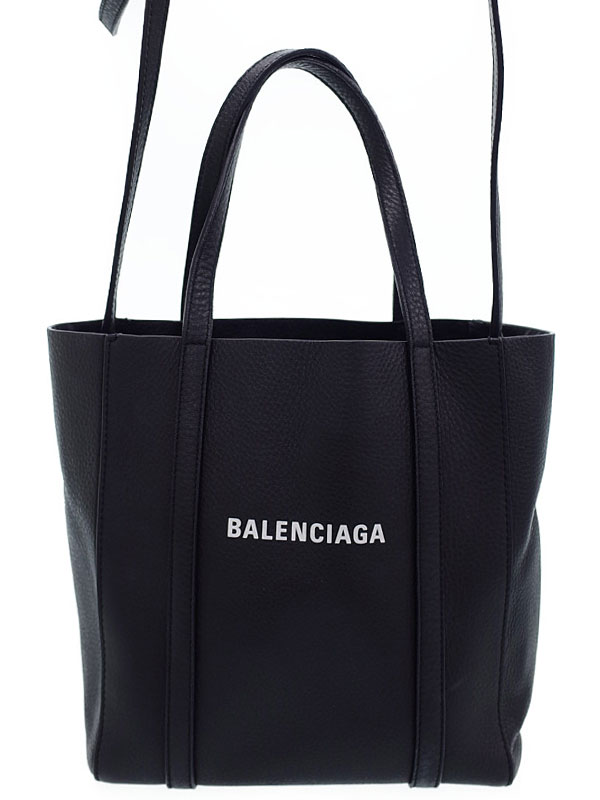 【BALENCIAGA】【EVERYDAY】バレンシアガ『エブリデイ トート XXS』551815 レディース 2WAYバッグ 1週間保証【中古】