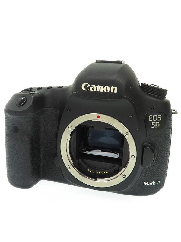 【Canon】キヤノン『EOS 5D Mark III ボディ』5260B001 2230万画素 フルサイズ SDXC/CF フルHD動画 デジタル一眼レフカメラ 1週間保証【中古】