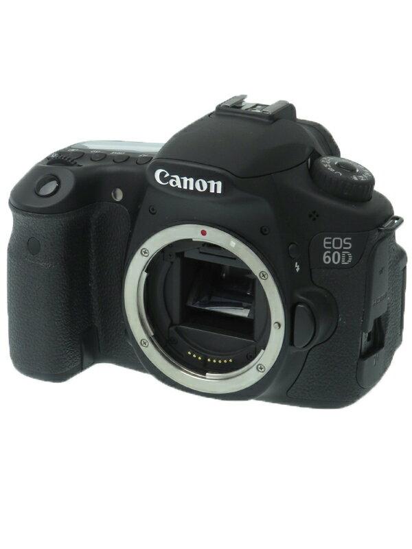 【Canon】キヤノン『EOS 60D ボディ』4460B001 デジタル一眼レフカメラ 1週間保証【中古】