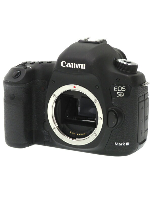 【Canon】キヤノン『EOS 5D Mark III ボディ』2230万画素 フルサイズ フルHD動画 SDXC/CF デジタル一眼レフカメラ 1週間保証【中古】