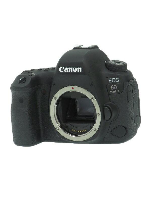 【Canon】キヤノン『EOS 6D Mark II ボディ』1897C001 デジタル一眼レフカメラ 1週間保証【中古】