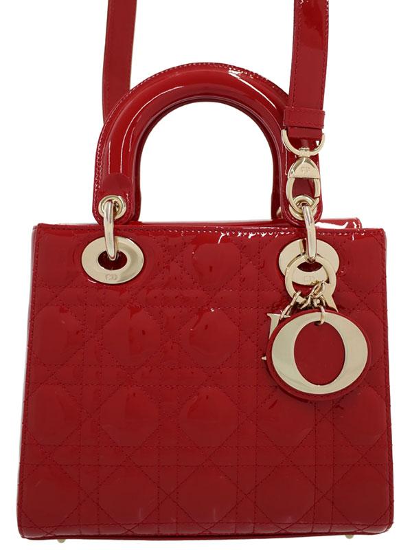 【Christian Dior】クリスチャンディオール『レディディオール(S)』M0531OWCB M35R レディース 2WAYバッグ 1週間保証【中古】