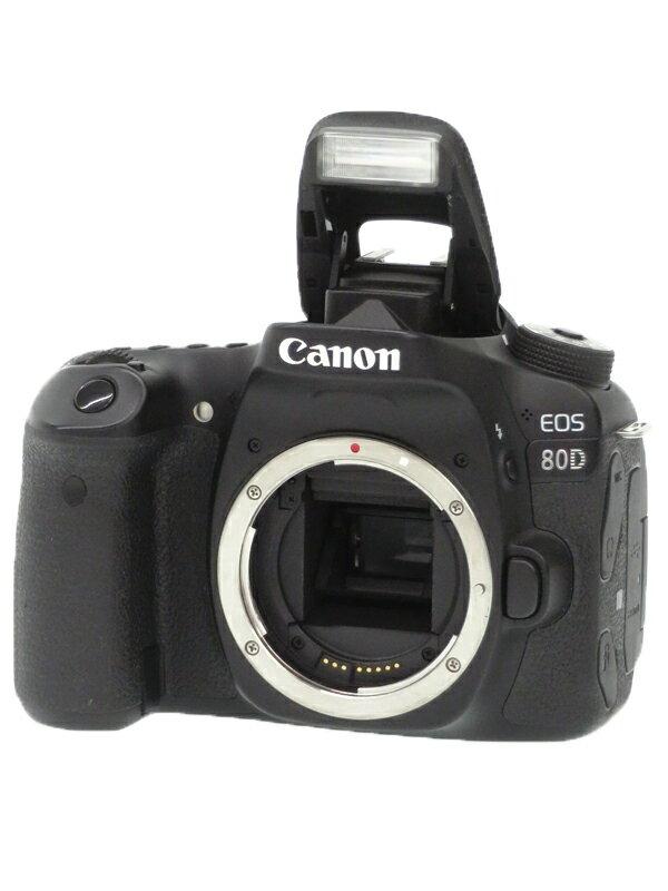 【Canon】キヤノン『EOS 80D ボディ』1263C001 デジタル一眼レフカメラ 1週間保証【中古】