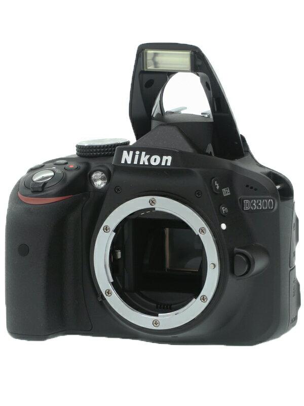 【Nikon】ニコン『D3300 ボディ』デジタル一眼レフカメラ 1週間保証【中古】