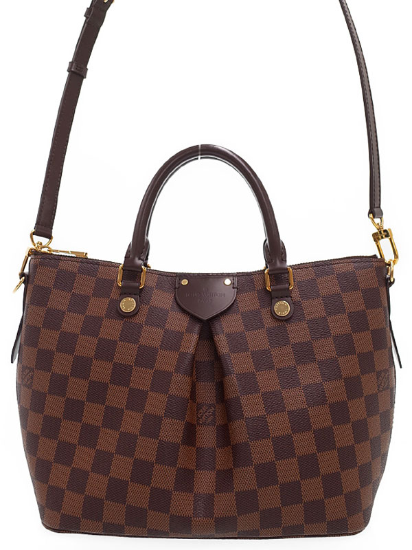 【LOUIS VUITTON】ルイヴィトン『ダミエ シエナPM』N41545 レディース 2WAYバッグ 1週間保証【中古】