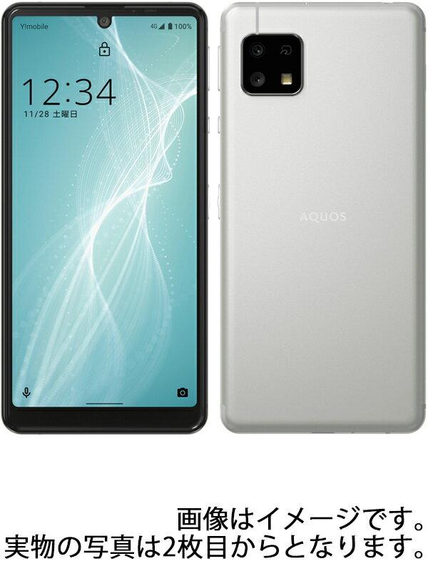 【SHARP】シャープ『AQUOS sense 4 basic 64GB SIMロック解除済 Y!mobile シルバー』A003SH スマートフォン 1週間保証【中古】