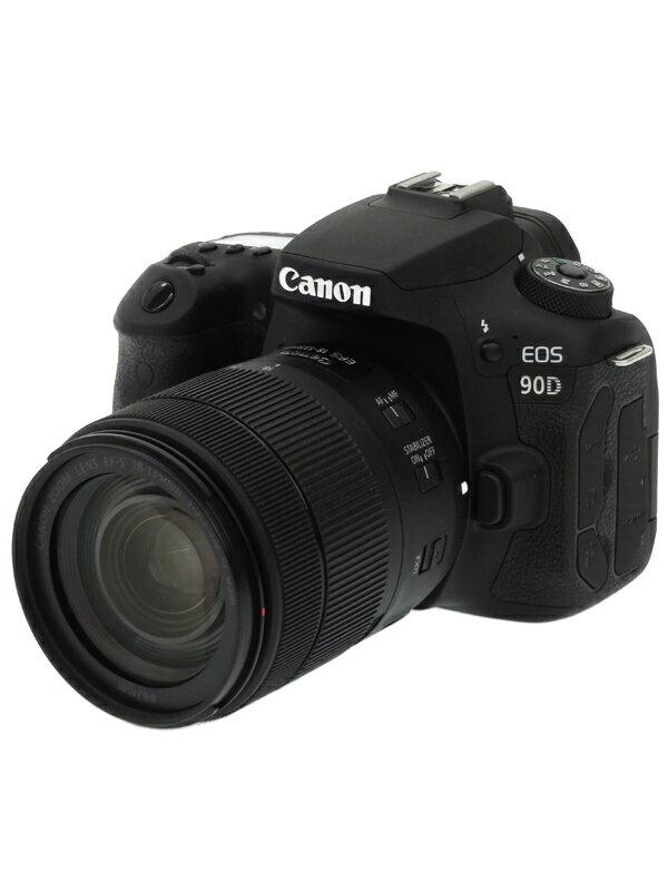 【Canon】キヤノン『EOS 90D EF-S18-135 IS USMレンズキット』3250万画素 EF-S 4K動画 SDXC デジタル一眼レフカメラ 1週間保証【中古】