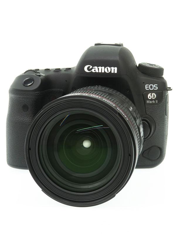 【Canon】キヤノン『EOS 6D Mark II レンズキット』EOS6DMarkII 2017年8月発売 2620万画素 デジタル一眼レフカメラ 1週間保証【中古】