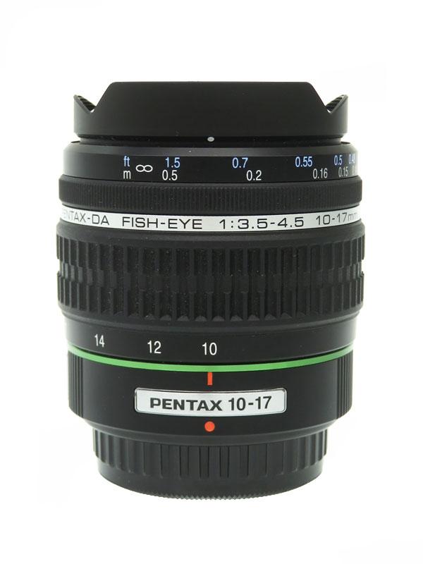 【PENTAX】ペンタックス『smc PENTAX-DA FISH-EYE 10-17mmF3.5-4.5ED[IF]』最大180度 魚眼ズームレンズ 1週間保証【中古】