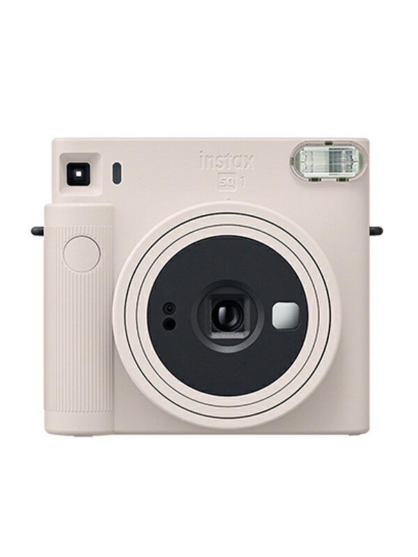 【FUJIFILM】富士フィルム『チェキ instax SQUARE』SQ1 チョークホワイト インスタントカメラ 1週間保証【新品】