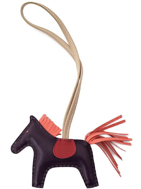 【HERMES】エルメス『ロデオチャーム PM』H075331CAAC A刻印 2017年 レディース バッグチャーム 1週間保証【中古】