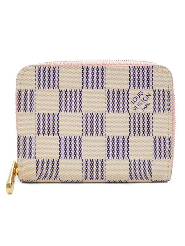 【LOUIS VUITTON】ルイヴィトン『ダミエ アズール ジッピー コインパース』N60229 レディース コインケース 1週間保証【中古】