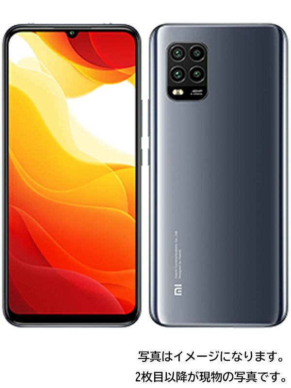 【Xiaomi】シャオミ『Mi 10 Lite 5G 128GB SIMロック解除済 au コズミックグレー』XIG01 2020年9月発売 スマートフォン 1週間保証【中古】