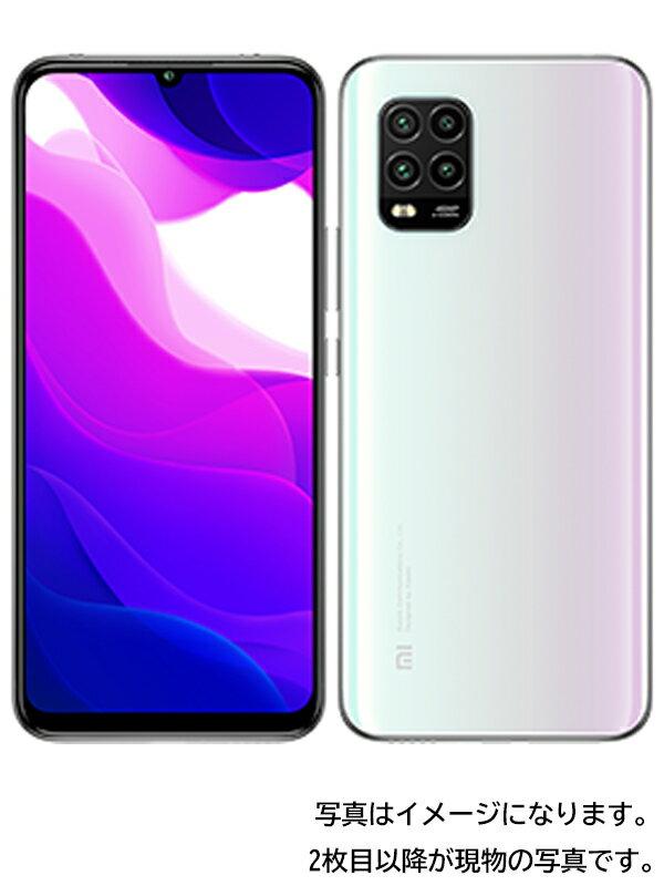 【Xiaomi】シャオミ『Mi 10 Lite 5G 128GB SIMロック解除済 au ドリームホワイト』XIG01 2020年9月発売 スマートフォン 1週間保証【中古】
