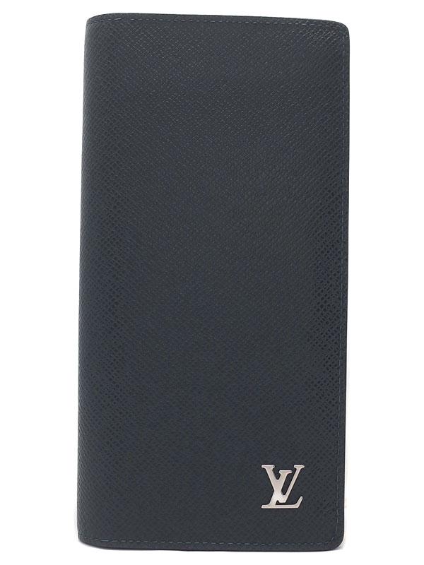 【LOUIS VUITTON】ルイヴィトン『タイガ ポルトフォイユ ブラザ』M30292 メンズ 二つ折り長財布 1週間保証【中古】