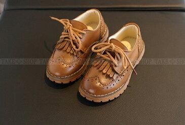 【全2色・10サイズ】フォーマル靴 男の子 子供靴 革靴 キッズ シューズ 女の子 男女兼用 カジュアル 卒業式 入学式 子供フォーマル 結婚式 発表会 入園式 フリンジ 紐靴 フェイクレザーの紐履