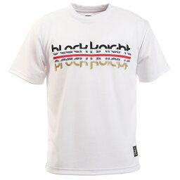 (ブラックナイト)Tシャツ ラケットスポーツ Mテニスシャツ T−9180−WHT