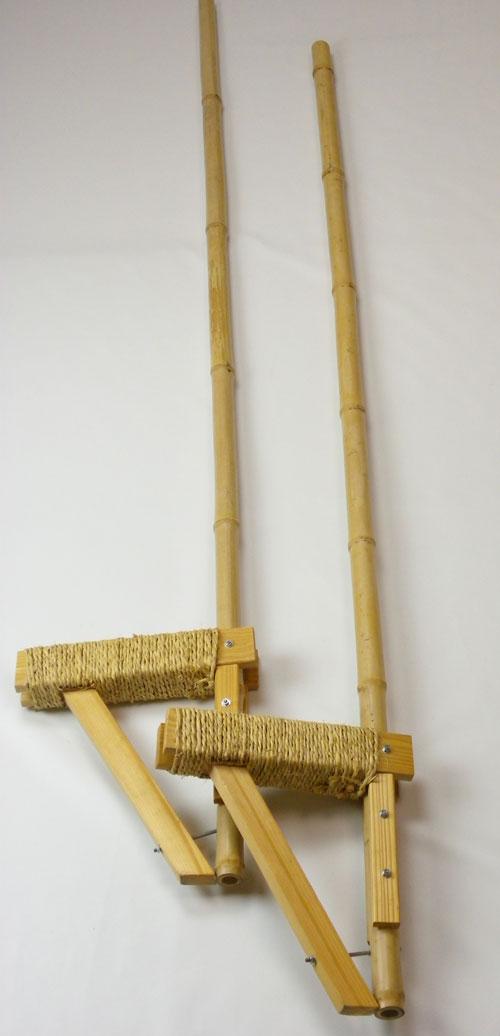 【受注生産】竹馬足場の高さ30cm国産日本製竹製子ども子供運動あそびプレゼントギフト贈り物懐かしいレトロおもちゃ玩具竹たけうまキャッシュレス5%還元