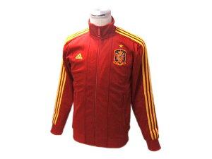 トラックジャケット トラックトップ サッカージャケットサッカースペイン代表ジャージで魅せる...